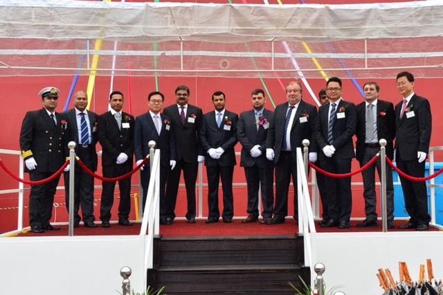 Oman Shipping Muscat Silver & Rustaq Silver naming ceremony